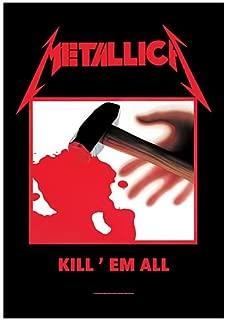 LPGI Metallica Kill Em All Fabric Poster Wall Hanging