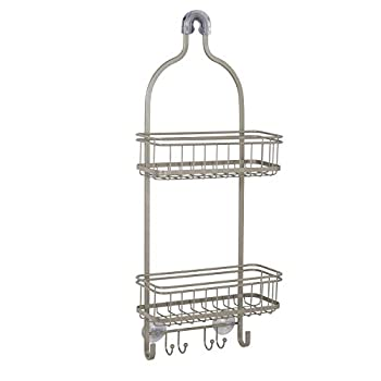 Best brushed nickel shower caddy Reviews