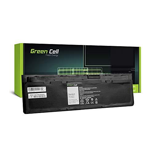 Green Cell® WD52H GVD76 0KWFFN 0WD52H KWFFN Laptop Akku für Dell Latitude E7240 E7250 (Li-Polymer Zellen 2600mAh 11.1V Schwarz)