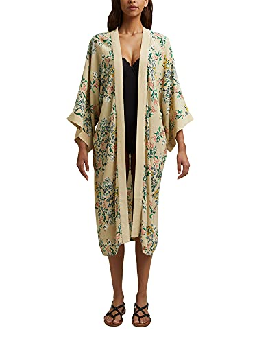 ESPRIT Langer Kimono mit LENZING™ ECOVERO™