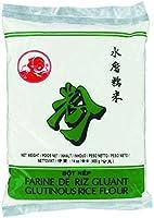 Farine de Riz Gluant pour préparations de plats et desserts asiatiques - Marque COQ - 400g