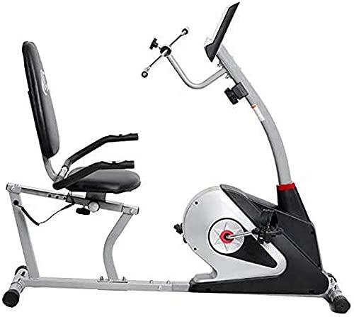 NBLD Gran Volante bidireccional, transmisión por Correa, Resistencia Infinita, Pantallas LCD, Bicicletas de Ejercicio Verticales de Pulso Manual (Bicicletas de Estudio para Interiores): Calidad d