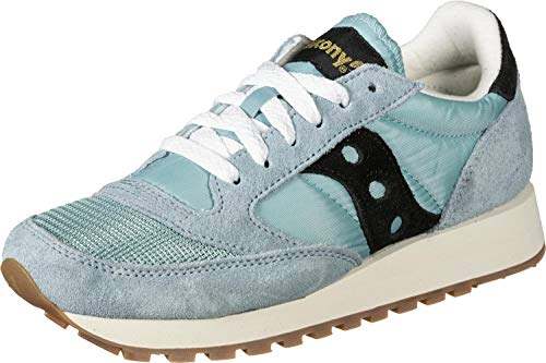 Saucony Jazz Original Vintage, Low-Top Sneakers Donna, Blu (Azul 98), 36 EU