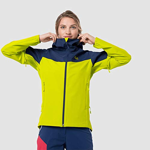 Jack Wolfskin Damen Alpine Trail Jacke, Flashing Green, XXL