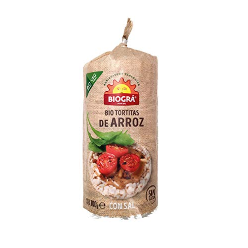 Biográ Torta De Arroz Con Sal, 100g