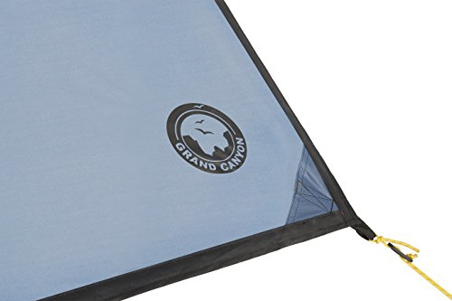 Grand Canyon Ray - Tarp sun sail with poles, bivouac tent, UV50 protection, different colors