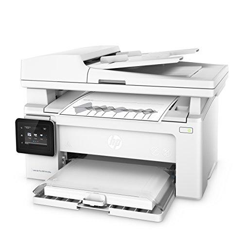 HP LaserJet Pro M130fw - Impresora láser multifunción (256 MB, fax, WiFi, escáner AAD, 23 ppm, hasta 10000 páginas), color blanco