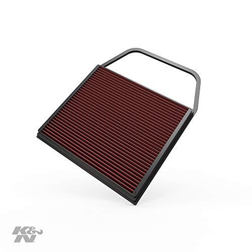 K&N 33-2367 Motorluftfilter: Hochleistung, Prämie, Abwaschbar, Ersatzfilter, Erhöhte Leistung, 2006-2017 35i, 335is, Z4 3.5 sDrive I, 1 Series M, 135i, andere ausgewählte Modelle
