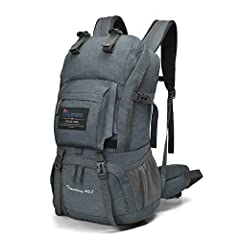 "Material:Polyester. YKK Zipper and YKK Buckle The main compartment is the size of the whole backpack. Mine is 20""h x 12""w x 4.5"" deep.Your Laptop(big enough for a 17""laptop).There is a compartment that can be used for a bladder and a holding place fo..."