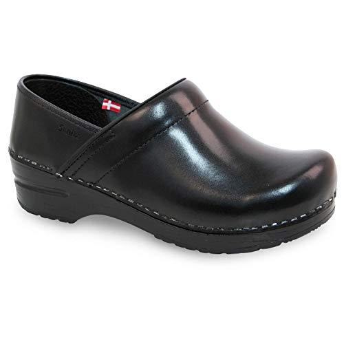 Sanita Pro. Cabrio Men's Clog in Black