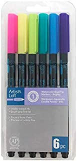 Bright Dual-Tip Watercolor Markers by Artist's Loft
