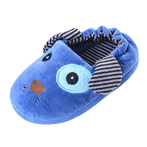 LANSKIRT Zapatos de Bebé Invierno Zapatillas Antideslizantes para Niño Niña Calientes...