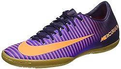 Nike 831966-585, MERCURIAL VICTORY VI IC Herren Hallenfußballschuhe violett 44.5 EU