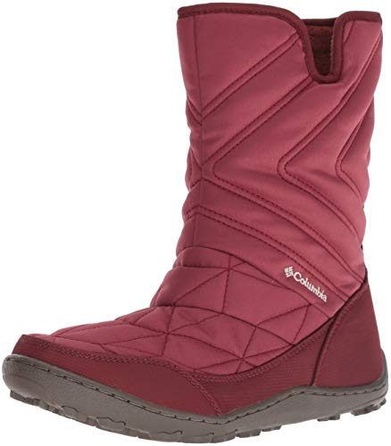 Columbia Women's Minx Slip III Mid Calf Boot, marsala red, fawn, 6.5 Regular US