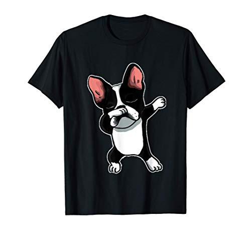 French Bulldog Dabbing Frenchie Dog Dab Dance T-Shirt