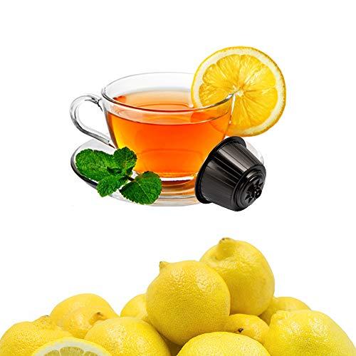 KICKKICK Capsule Te al Limone Solubile Compatibili Nescafe Dolce Gusto - The in Cialde (32 Capsule)