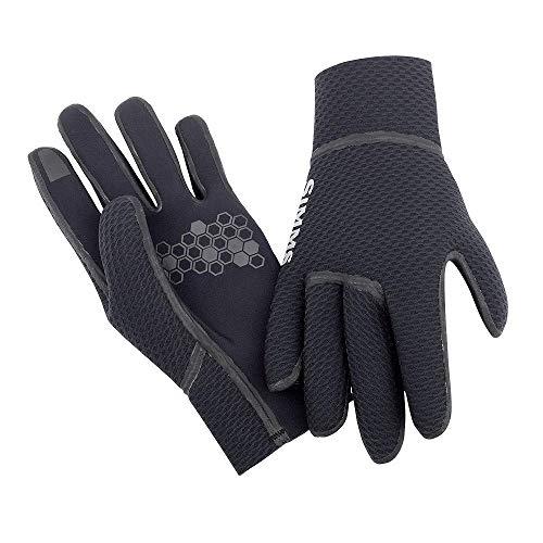 Simms Kispiox Handschuh, Schwarz - m