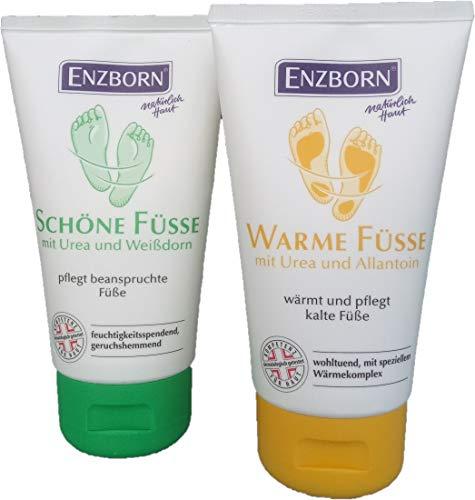 Enzborn® Crème pour les pieds beaux et chauds 75 ml