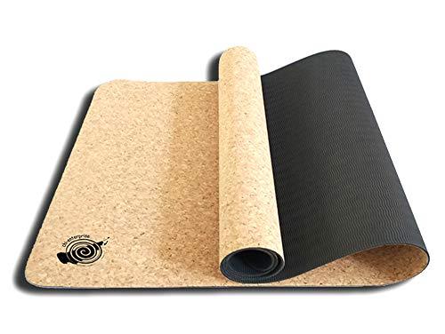 CORK Yoga Mat 6 mm, 183 x 60 cm