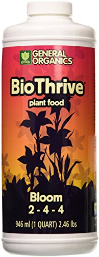 General Hydroponics GH5132 BioThrive Bloom, Quart, 1
