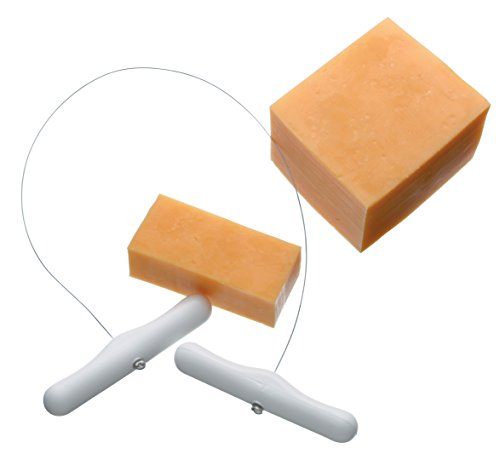 KitchenCraft Draht-Käseschneider mit Kunststoffgriff, 30 cm