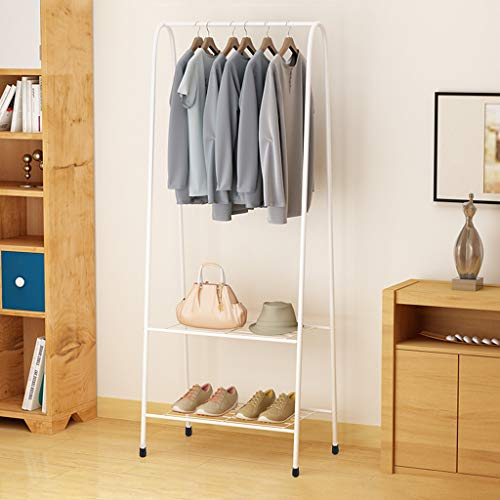 Clothes Rack,Clothes Rail Garment Dress Hanging Coat Hat Display Stand Shoe Rack Storage Shelf Clothes Storage Shelfs Rack Garment Dress Hanging Display Shoes Stand