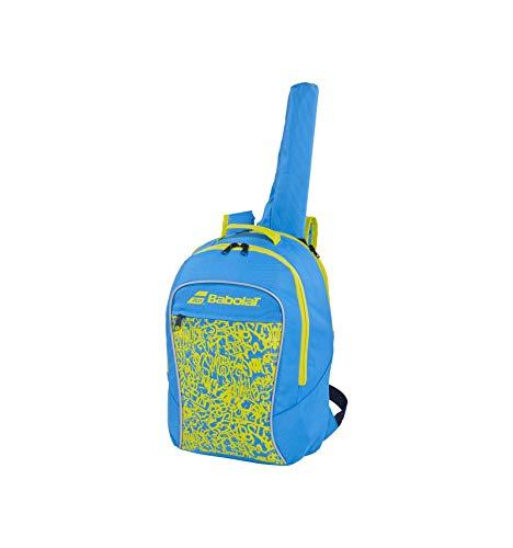 Babolat Backpack Junior Club Mochila, Juventud Unisex, Bleu/Vert acide (Azul), Talla Única