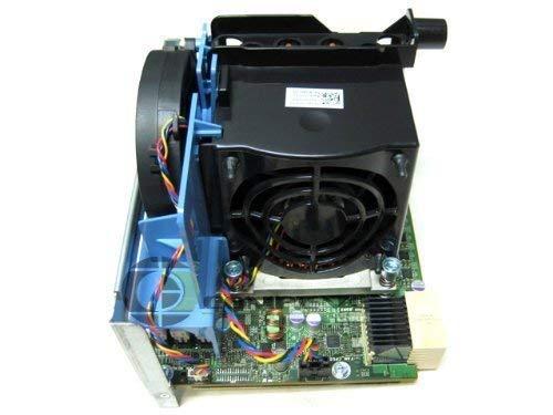 Dell Precision T5500 Workstation 2. Prozessor CPU Kühlkörper + Riser Assembly F623F W715F W567F F306F (Renewed)