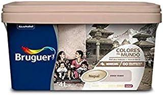 Bruguer 60992 Pintura paredes y techos, Nepal beige suave, 4 litros