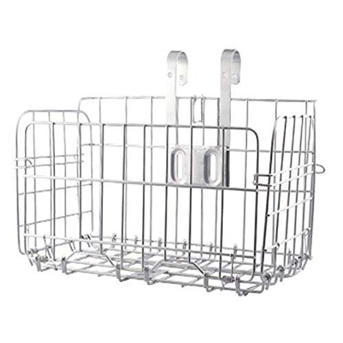 CT-CT Cycling Accessory Folding Rear Bicycle Basket Line Grid Folding Removable Front Bag Rear Suspension Bicycle Basket Bicycle Bag Mountain Bike Accessories Bicycle Frame Basket