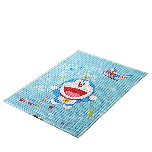 Alfombra de juego educativa para gatear, juguetes para niños, alfombra de juego de algodón grueso, alfombra plegable para el hogar (color: C)