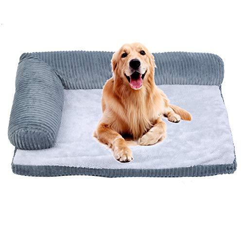 WJIN Cama para Dormir para Perros, Almohadilla para Cama Desmontable para Perros, Todas Las Estaciones para Teddy Golden Retriever