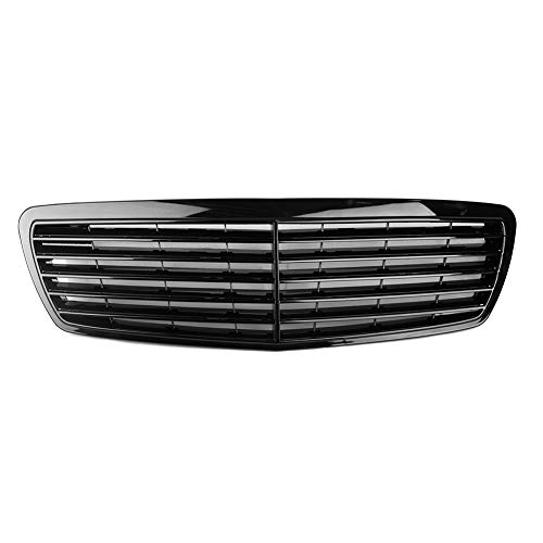 L.J.JZDY Auto Grille Auto-Frontgrill Grill for M-e-r-c-e-d-e-s B-e-n-z W211 E-Klasse E320 E350 E430 E500 2002 2003 2004 2005 2006