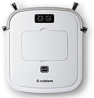 エスキュービズム ロボット掃除機(パールホワイト/シャンパンゴールド)【掃除機】S-cubism SCC-R05PW