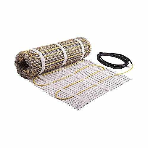 Beste elektrisches Bodenheizsystem 5.0m² wasserdicht für Bad Dusche Sauna Feuchtraum IP67 - Fußbodenheizung elektrisch
