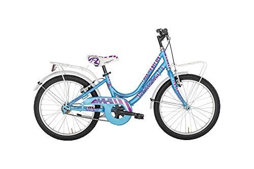 Alpina Bike Kariba, Bicicletta 6v Bambina, Azzurro, 20'