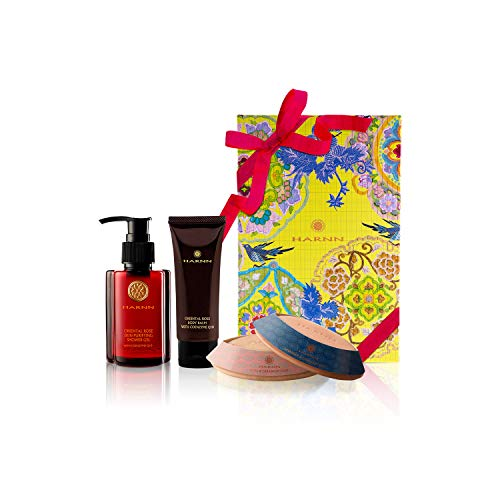 COFRE DE REGALO - HARNN Natural Body Care Set - ROSA ORIENTAL I - Crem