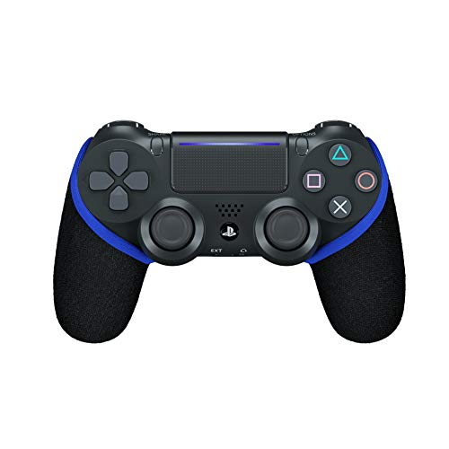 Smartgrip - Schwarz/Blau- Der ultimative PS4 Controller Überzug/Hülle mit patentierter Technologie - Made in Germany (Blau)