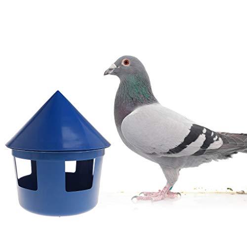 SHUXIN Pet Birds Parrot Pigeon Feeder Fütterung Futterspender Sandkasten House Design Cover Kunststoff Multifunktionsbehälter Supplies Staubdicht