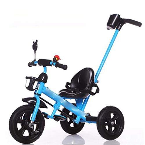Smmli-Toy Kinder Dreirad, Kinder Dreirad Fahrrad Trolley Mit Musik Dreirad Kinder Fahrrad Pedale Auf Dem Auto