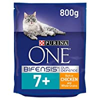 With PURINA ONE BIFENSIS. A unique nutritional formula with beneficial functional bacteria scientifically proven to help support your cat's natural defences from the inside out. 24 vitamins and minerals to help support vital functions and protect ove...