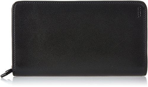 Tumi Nassau Etichetta per valigie, 20 cm, Nero (Black Smooth)
