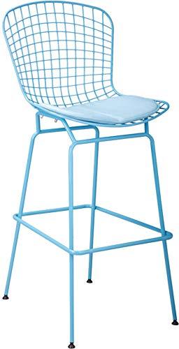KTSWP 64 cm Sitzhöhe Klassischen Modernen Design Bertoia draht Barhocker Stuhl Loft Metall Stahl draht Barhocker Stuhl berühmte chair-1PC