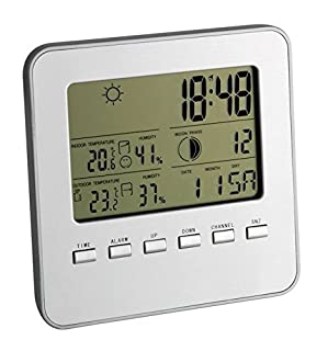 TFA Dostmann 35.1098 Quadro - Estación meteorológica inalámbrica (B002UZ5RMO) | Amazon price tracker / tracking, Amazon price history charts, Amazon price watches, Amazon price drop alerts