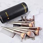 Beauty Shopping BS-MALL Makeup Brush Set 18 Pcs Premium Synthetic Foundation