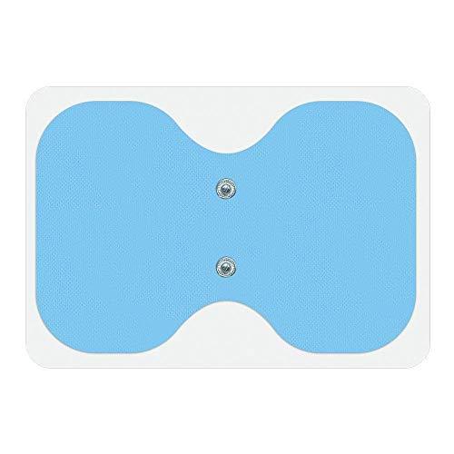 Bluetens Electronic Dispositivo estimulador Muscular 'Mariposa' Almohadillas, Unisex Adulto, Azul, Talla única