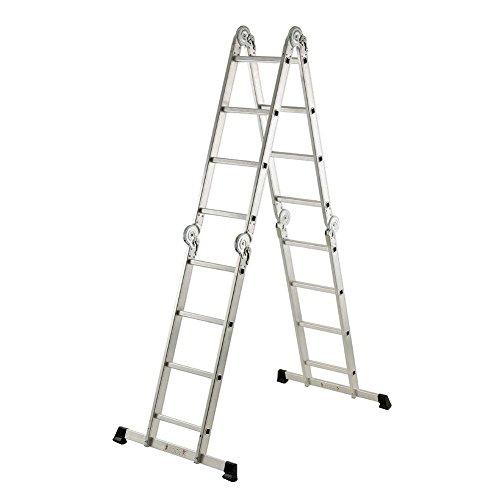 Gierre M257107 - Escalera multiposicion aluminio 4x4 al910