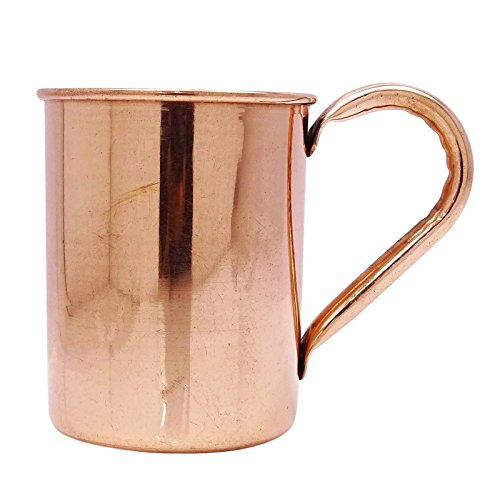 Solid Copper Mug Moscow Mule Tableware Utensil Bar Accessories Kitchenware Cup
