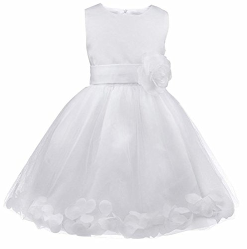 Lihuang Kids Wedding Party Bowknot Flower Girl Dress Party Gown Princess Dresses