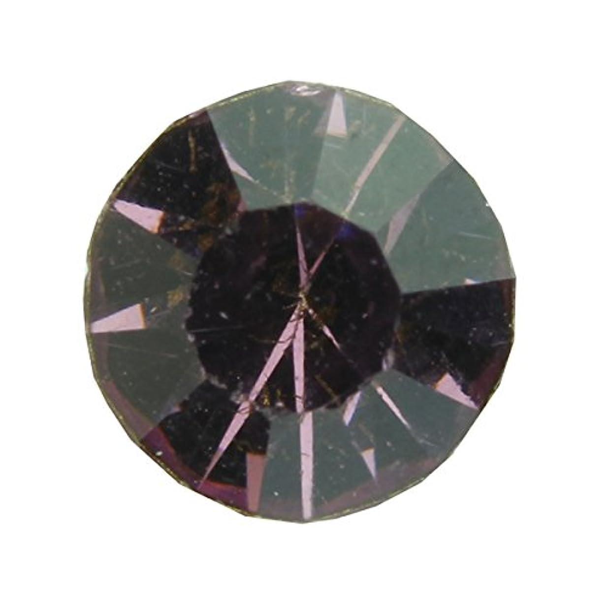 消費ロードハウス霜アクリルストーンVカット ss12(約3.0mm)(30個入り) アメジスト